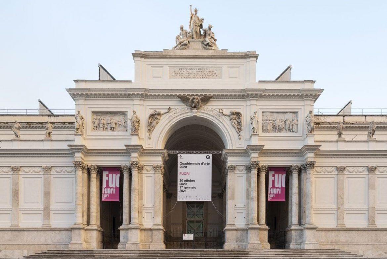 La Quadriennale 2020 e l'esposizione FUORI