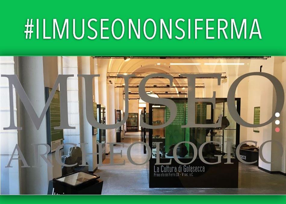 """Figura 1: Anche il Museo Archeologico di Arona ha aderito al progetto nazionale """"Il museo non si ferma"""""""