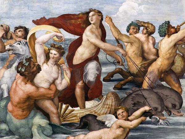 Trionfo di Galatea, Raffaello