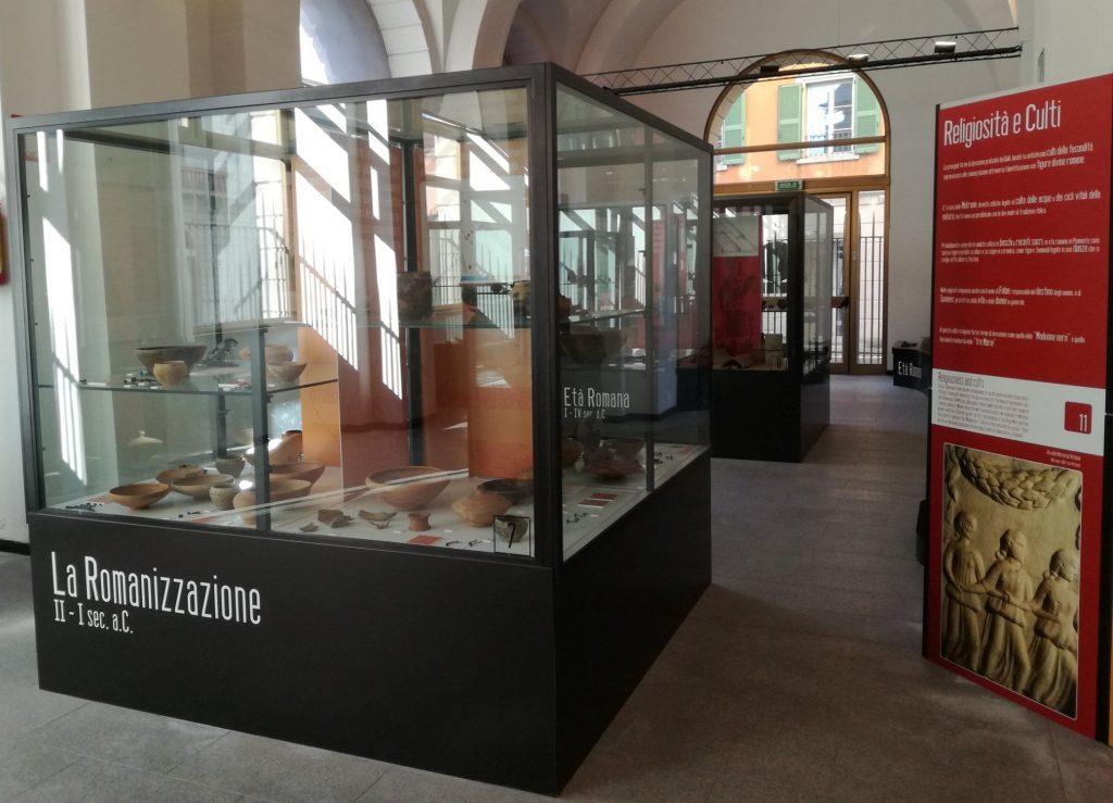 Figura 2: Interni dell'ArcheoMuseo di Arona