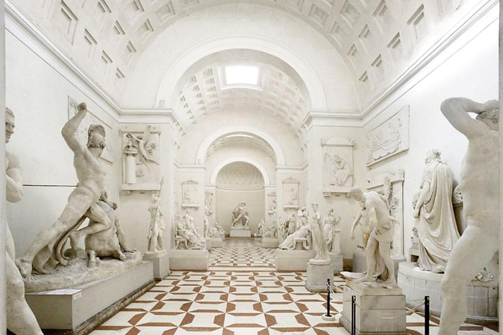 Figura 2: interni della Gypsoteca Antonio Canova