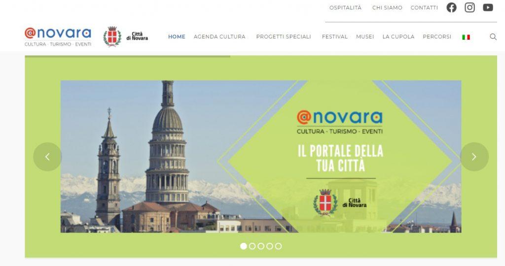 Figura 2: Visuale del portale A-Novara