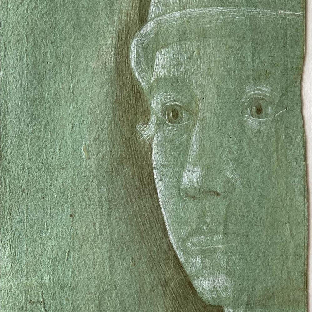 Figura 6: Disegno di Benozzo Gozzoli (n. 104) in cui la biacca è protagonista