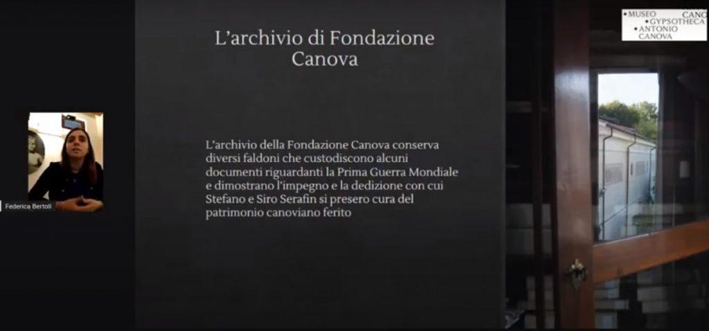 """Figura 7: Secondo incontro dell'iniziativa """"Frammenta 01"""", intitolato In Archivio, tenuto dalla Dott.sa Federica Bertoli."""
