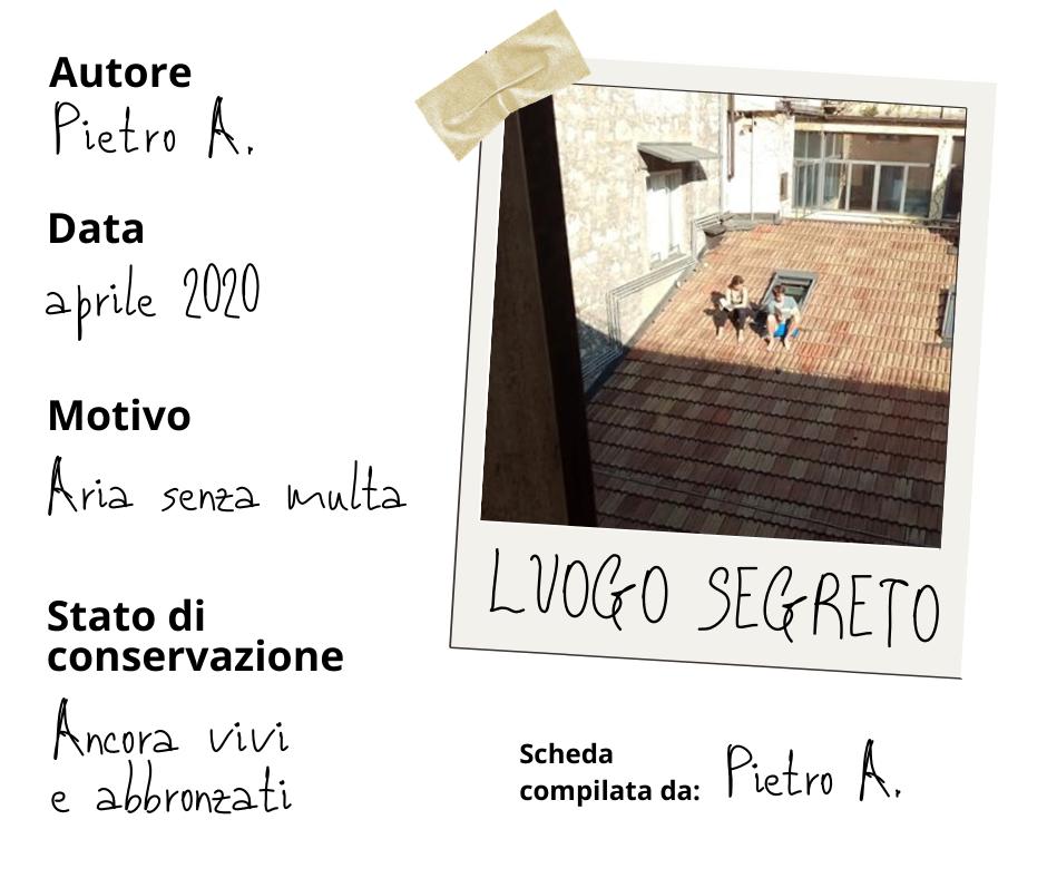 Luogo Segreto, Museo della Quarantena