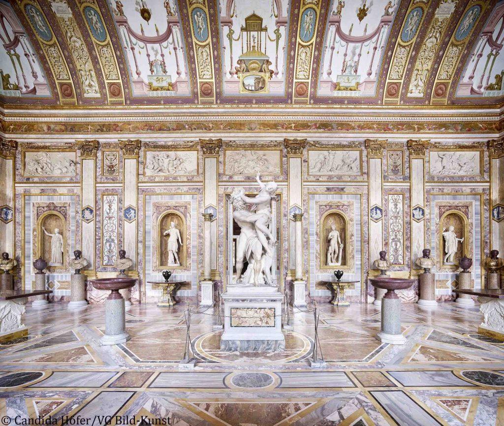 Galleria Borghese, Roma - interni