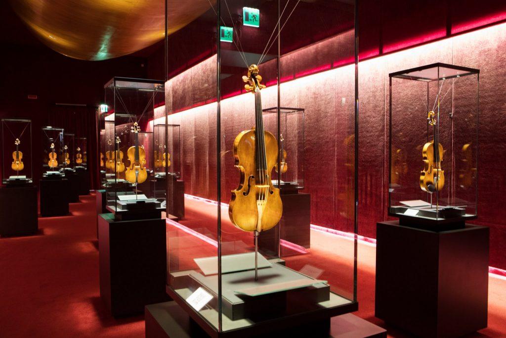 Interni del Museo del Violino