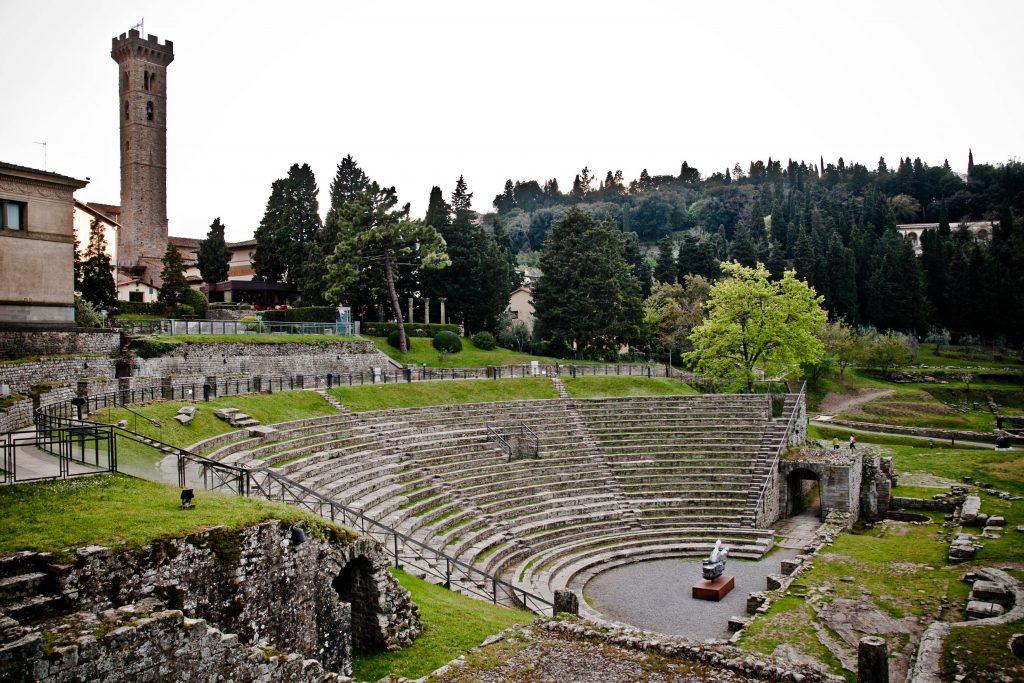 Area archeologica di Fiesole, uno dei luoghi sonori presi in analisi