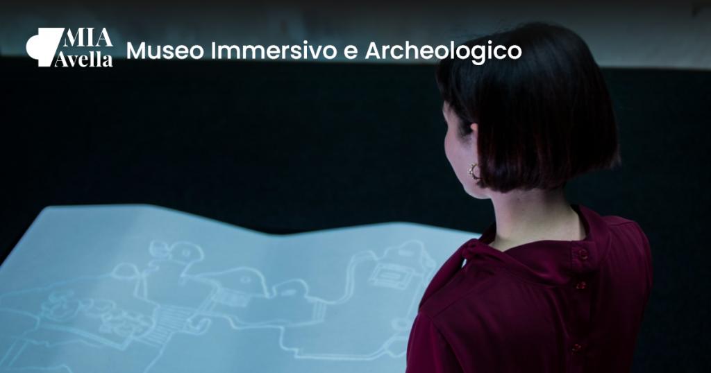Locandina del Museo Immersivo Archeologico di Avella