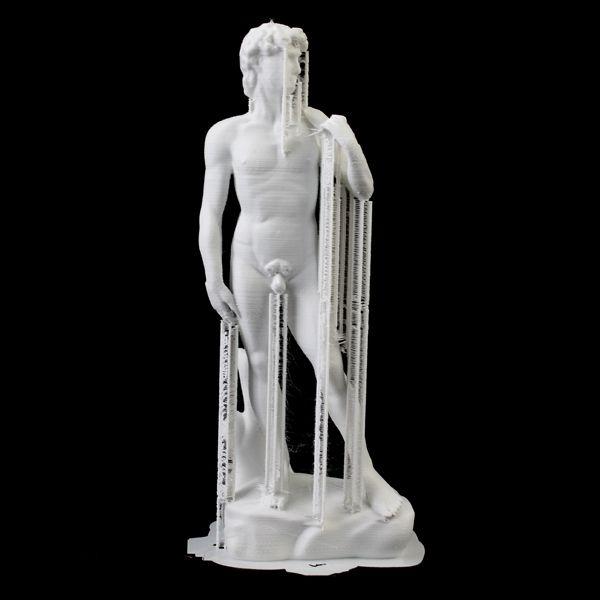 Riproduzione 3D del David d Michelangelo