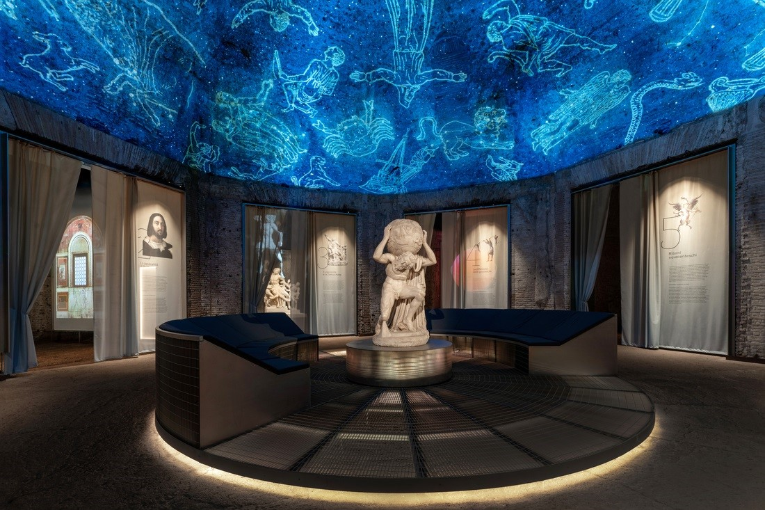 La Domus Aurea accoglie la mostra immersiva su Raffaello e le grottesche