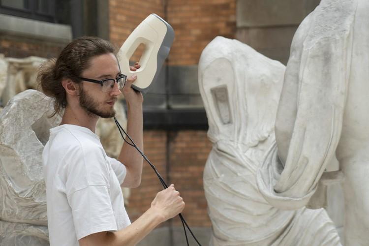 Il Museo Virtuale che permette la stampa 3D delle opere d'arte