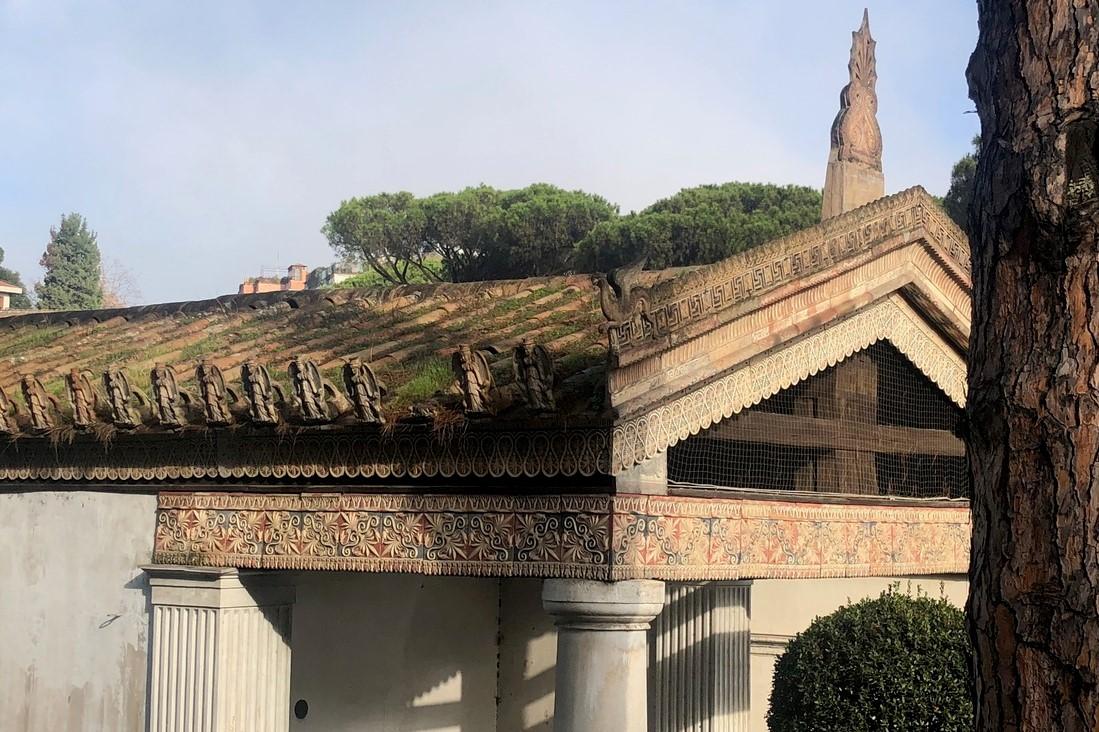 Il restauro-show del Tempio di Alatri nel Museo di Villa Giulia
