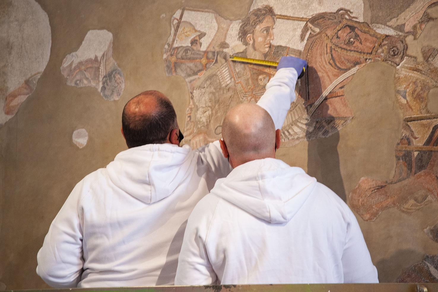 Il Museo Archeologico di Napoli e l'avatar di Alessandro Magno