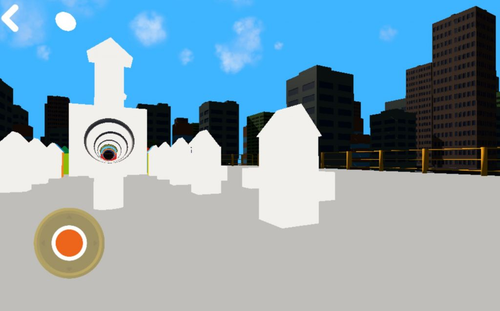 Screenshot dal gioco LUDO